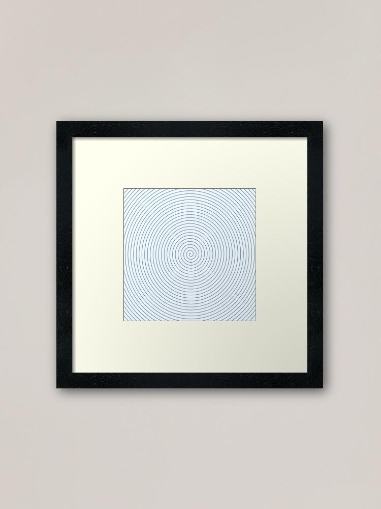 Alternate view of Spiral Framed Art Print