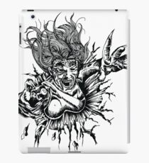 Female Vampire Attacks iPad Case/Skin