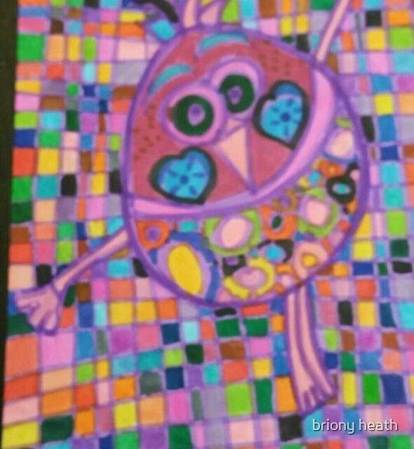 texture art i did  by briony heath