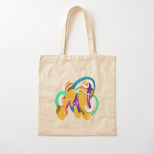 LETTER N Cotton Tote Bag