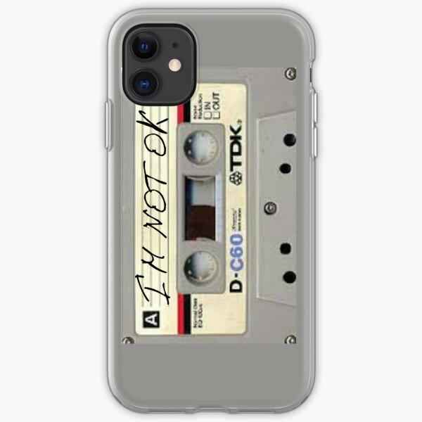 im not ok casette vertical iPhone Soft Case