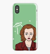 Special Agent Dana Scully iPhone Case/Skin