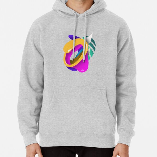 LETTER O Pullover Hoodie
