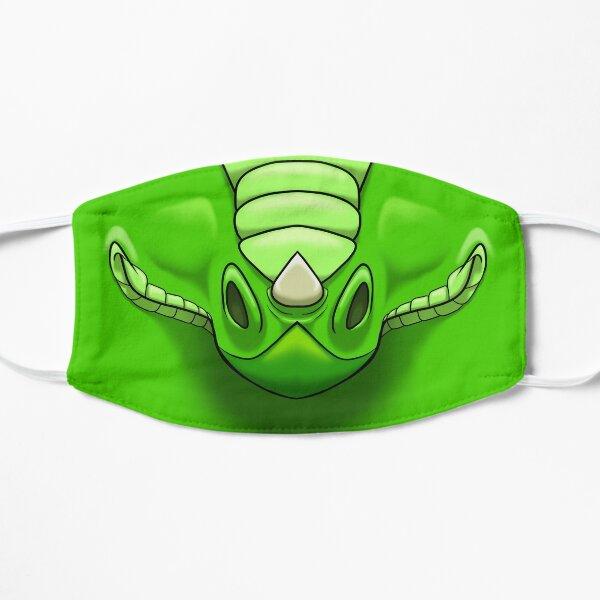 Grüner Drache Flache Maske