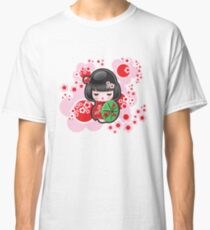 Japanese Kokeshi Doll Classic T-Shirt