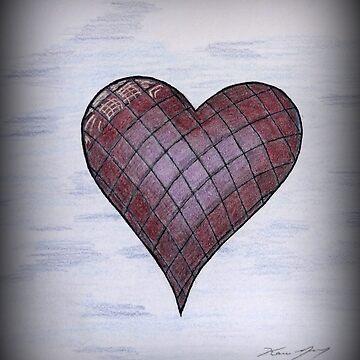 Checkered Heart by karriezenz