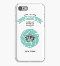Seijoh Crest iPhone Case/Skin