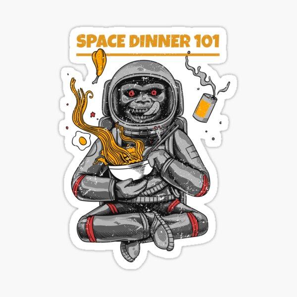 Space Dinner 101 Sticker
