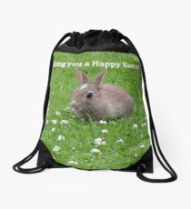 Unique easter gift ideas gifts merchandise redbubble easter bunny wishes nz drawstring bag negle Image collections