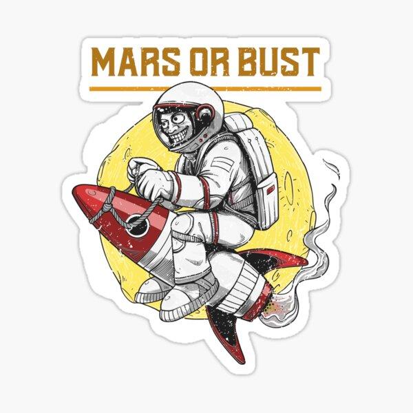Mars Fever Sticker