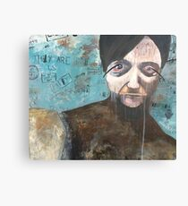 Conspiracies Are Real Canvas Print