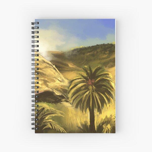The Hills of Gran Canaria Spiral Notebook