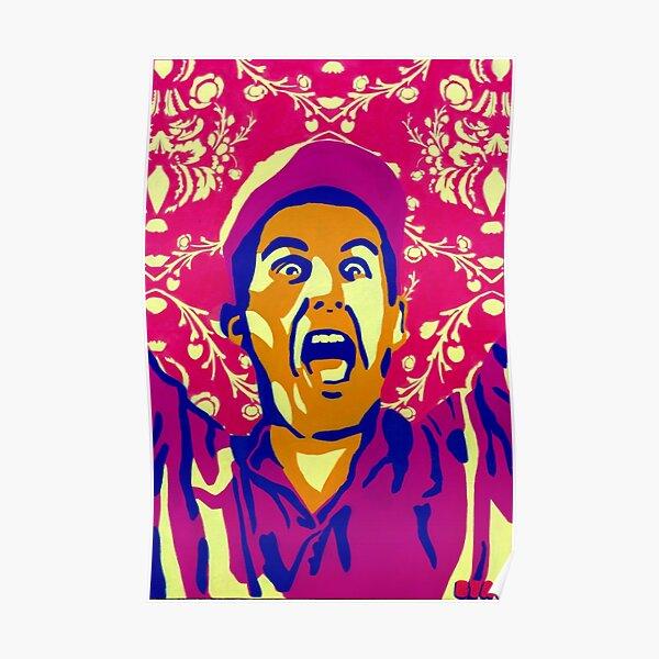 Billy Madison, I Am The Smartest Man Alive, Stencil Art Poster