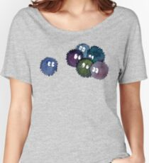 Watercolor Soot Sprites Women's Relaxed Fit T-Shirt