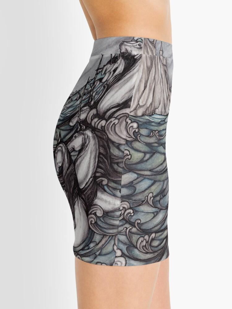 Alternate view of Unicorns in Sea Mini Skirt