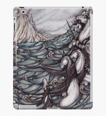Unicorns in Sea iPad Case/Skin