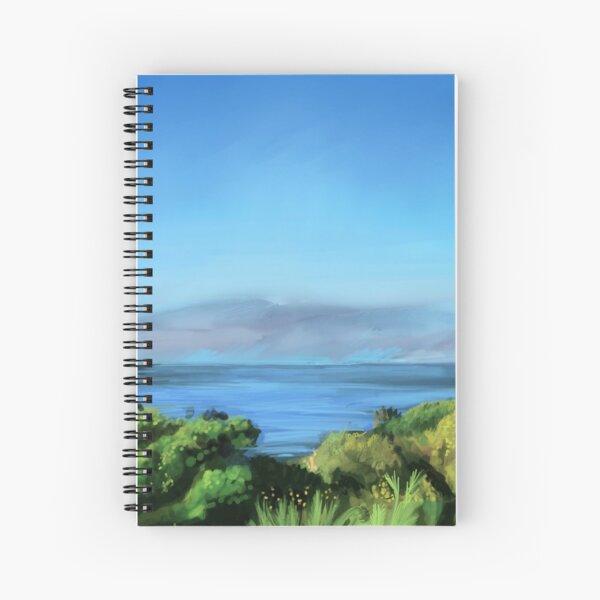 Villa View in Genua Spiral Notebook