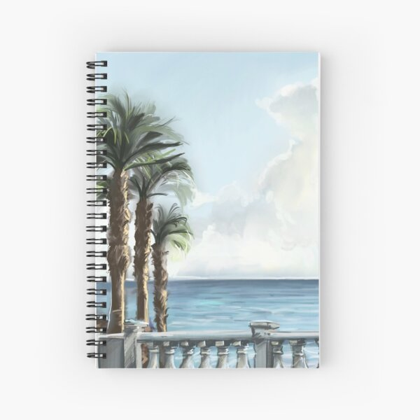 Walkway to the Beach Spiral Notebook