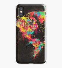 Psychedelic Continents iPhone Case/Skin
