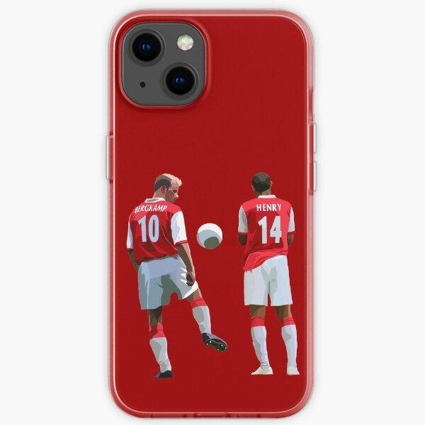 Dennis Bergkamp & Thierry Henry iPhone Soft Case
