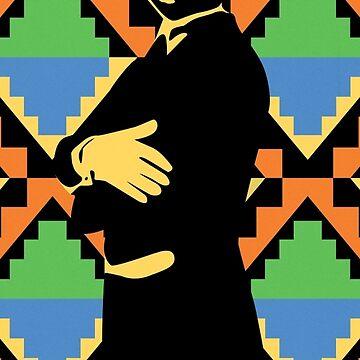 Geoffrey, Fresh Prince of Bel Air, Street Art, Stencil Art by bennyisjamin