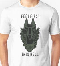 Feet First into Hell  Unisex T-Shirt