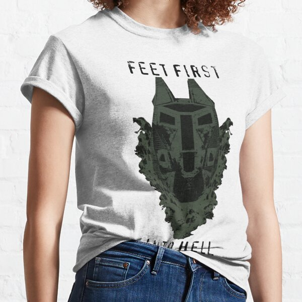 Feet First into Hell  Classic T-Shirt