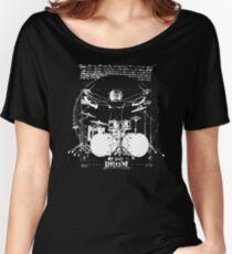 Vintage Da Vinci Drum Women's Relaxed Fit T-Shirt