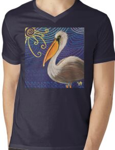 The OG Pelican Mens V-Neck T-Shirt