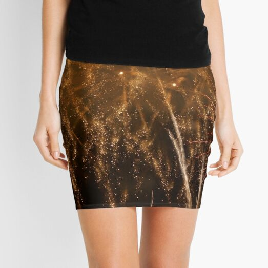 Fireworks Abstract 18 Mini Skirt
