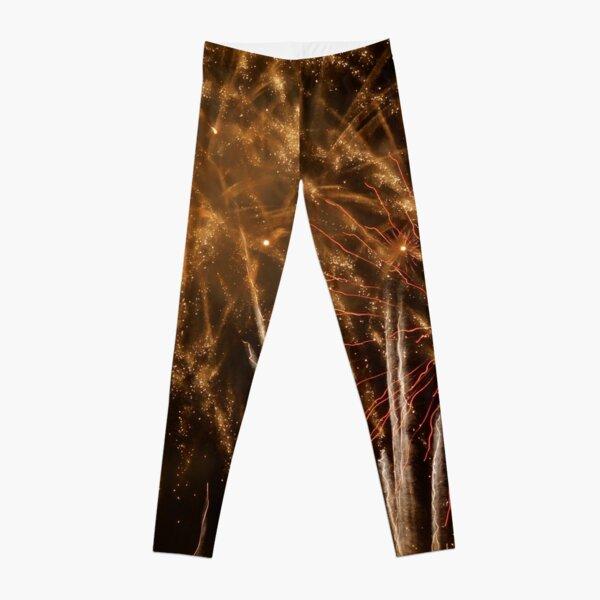 Fireworks Abstract 18 Leggings