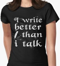 Writer Blogger Women's Fitted T-Shirt