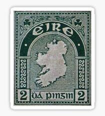 """""""1922 Eire (Ireland) Stamp"""" Sticker"""