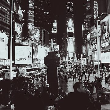 New York at Night by Amped