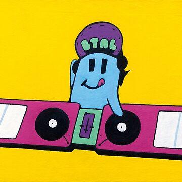 DJ BTAL, Painting / Design by bennyisjamin