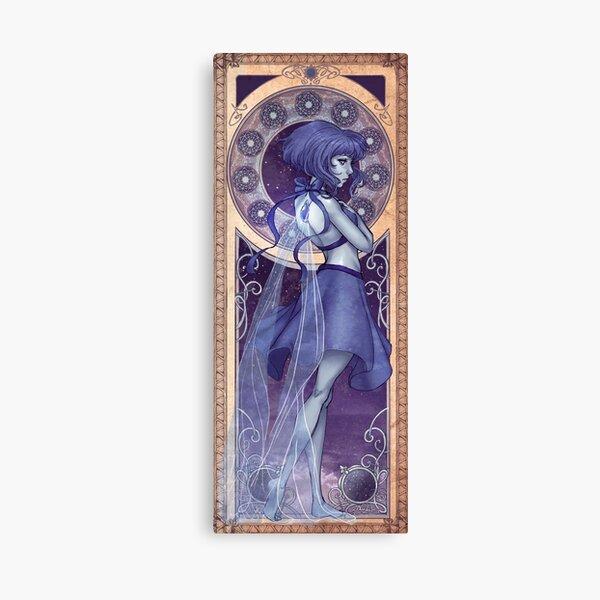 Lapis Lazuli Mucha Canvas Print