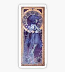 Lapis Lazuli Mucha Sticker