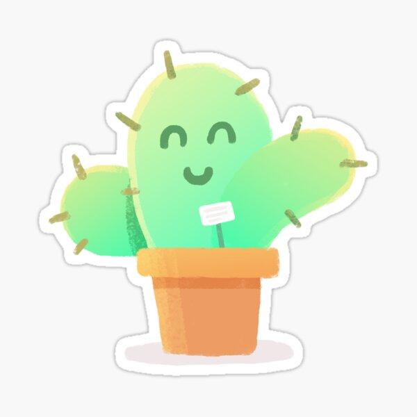 Happy Plant Sticker