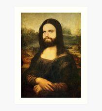 Mona-Lisa Galifianakis Art Print
