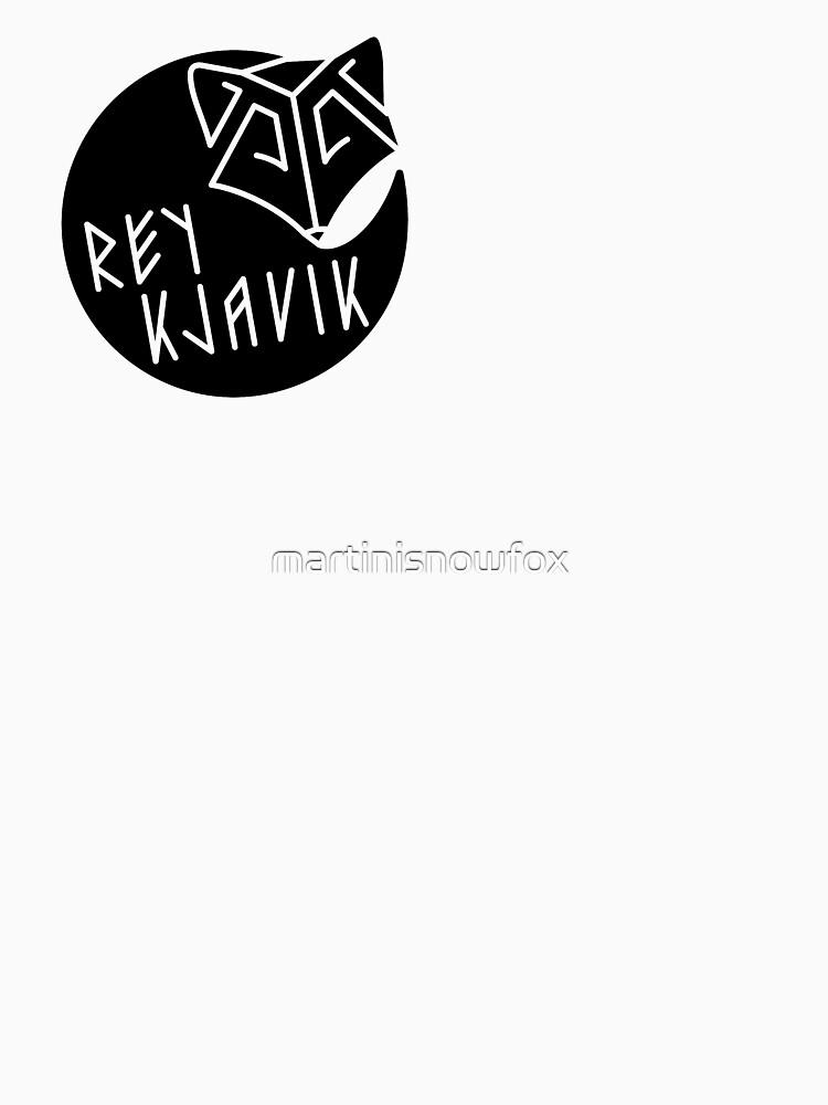 REYKJAVIK black by martinisnowfox