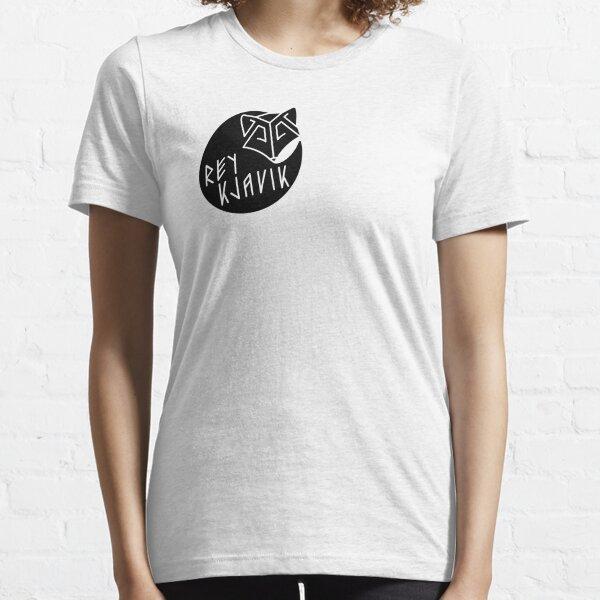 REYKJAVIK black Essential T-Shirt