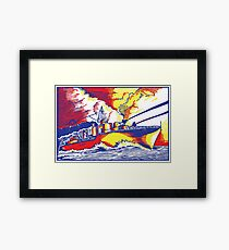 Battleship Framed Print
