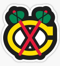 Chicago Blackhawks Alt Sticker