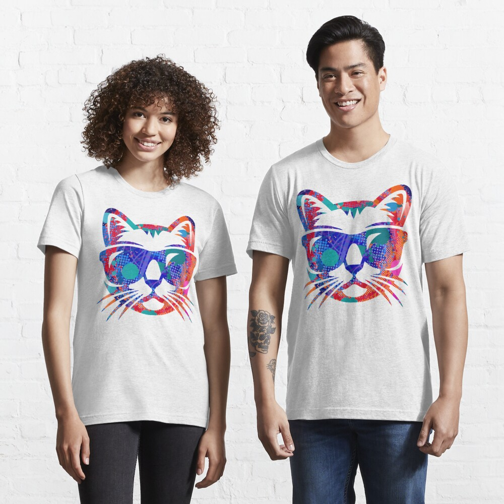 Cat Face of colors Essential T-Shirt