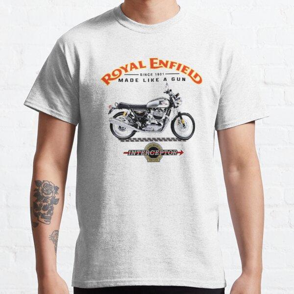 Royal Enfield Interceptor motorcycle Classic T-Shirt