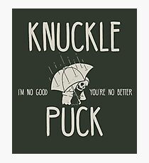 Knuckle Puck Photographic Print