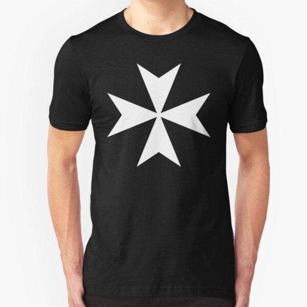 Cross of the Knights Hospitaller Slim Fit T-Shirt