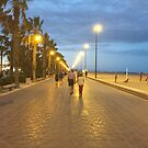 Valencia, Spain Boardwalk Sunset by heyfrank19