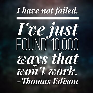 I have not failed. by durzarina