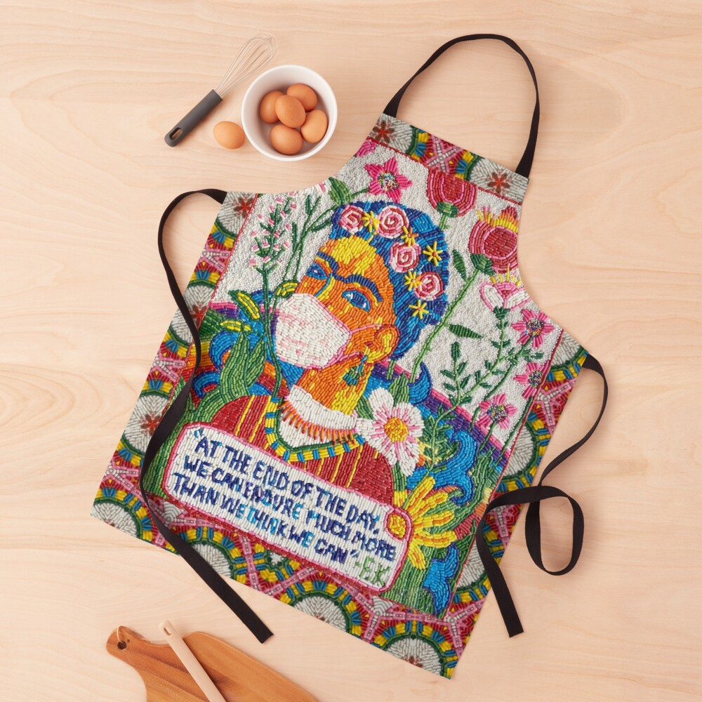 Frida in the time of Corona Apron